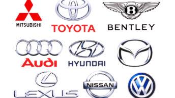 Prestigieuses marques de voiture